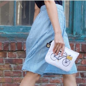 Boden Apple A Line Skirt Knee Length w Pockets